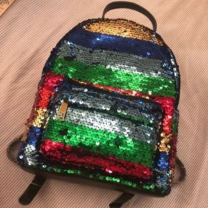 NWT Forever21 Sequin Backpack 🎒